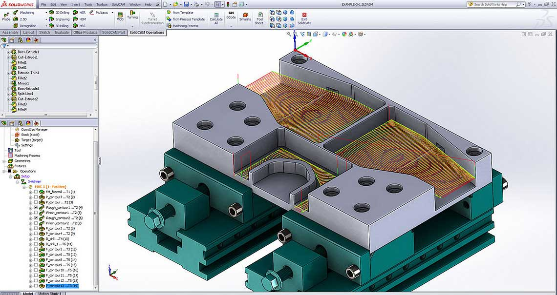 SolidCAM and SOLIDWORKS