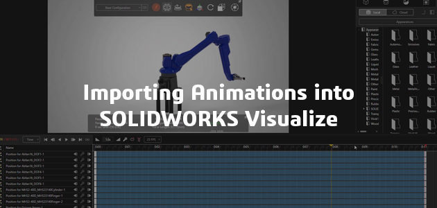 Export animation into Visualize