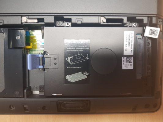Laptop Underneath