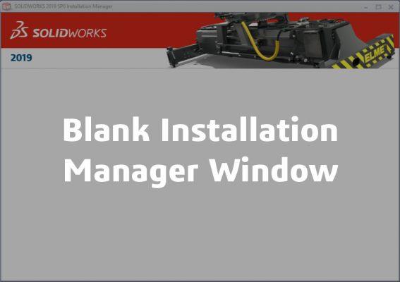 blank window image