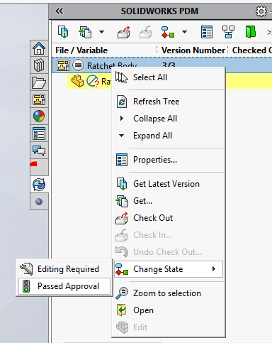 PDM Variable Mapping